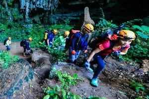 Đoàn thám hiểm hệ thống hang động mới nhất ở Việt Nam