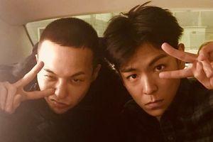 T.O.P đưa G-Dragon đi nhập ngũ, ôm chia tay đầy tình cảm