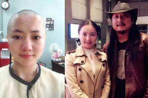 Nữ diễn viên TQ cạo trọc, thừa nhận ngoại tình với đạo diễn có vợ