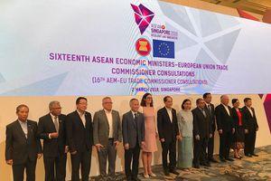 Tái khẳng định cam kết về quan hệ kinh tế giữa ASEAN và EU