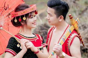 Ngắm ảnh cưới trong trang phục H'Mông của cảnh sát trẻ Yên Bái