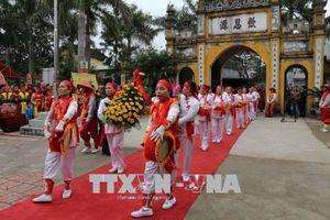 Khai hội Kinh Dương Vương Xuân Mậu Tuất 2018
