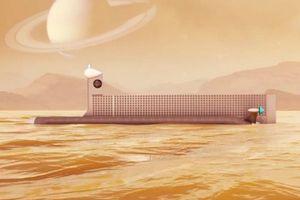 Tàu ngầm robot thám hiểm đại dương ngoài Trái đất