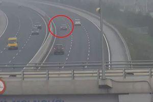 Nữ tài xế đi ngược chiều trên cao tốc Hà Nội-Hải Phòng khai gì tại cơ quan công an?