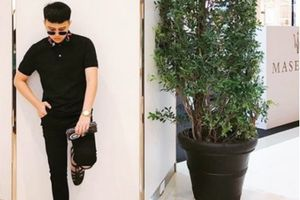 Duy Khánh là sao Việt đầu tiên mua dép rọ giá khủng của Gucci