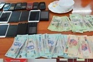 Thanh Hóa: Bắt giữ 13 đối tượng đánh bạc