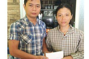 Bạn đọc giúp chị Mộng Tuyền 55 triệu đồng
