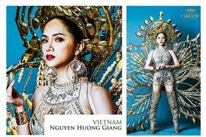 Hương Giang và dàn HH Chuyển giới lộng lẫy trong trang phục dân tộc