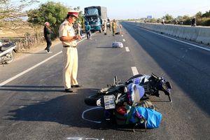Chạy xe vào Sài Gòn làm việc, nam thanh niên 25 tuổi gây tai nạn và chết thảm