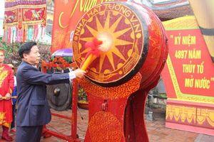 Rộn ràng Lễ Khai hội Kinh Dương Vương