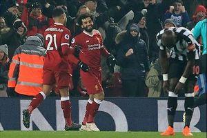 Thắng nhẹ Newcastle, Liverpool tái chiếm ngôi nhì bảng