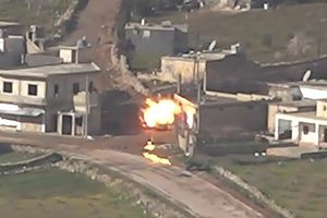 Phe Kurd bắn nổ tung xe quân sự Thổ Nhĩ Kỳ, giết 7 người trong xe
