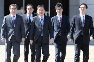 Nhà lãnh đạo Triều Tiên tiếp đặc phái viên của Tổng thống Hàn Quốc
