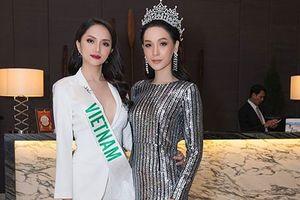 Hot Face sao Việt: Hương Giang đọ sắc đương kim HH Chuyển giới Quốc tế