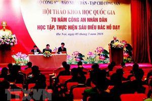 Thư của Tổng Bí thư Nguyễn Phú Trọng gửi hội thảo về công an nhân dân