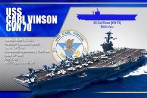 Giải mã siêu tàu sân bay Mỹ mới cập bến Đà Nẵng