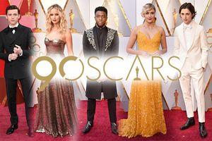 Thảm đỏ Oscar 2018: Black Panther, Người Nhện và dàn sao hạng A đã có mặt