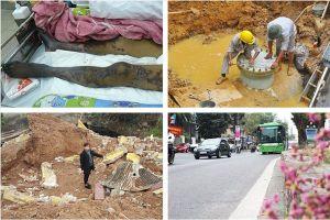 Tin tức Hà Nội 24h: Xét xử vụ vỡ đường ống nước sông Đà; Chủ tịch tự ý di dời phần mộ liệt sĩ?