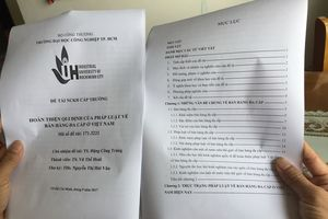 Trường sẽ xử lý ứng viên phó giáo sư bị tố 'đạo văn'