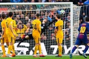 Messi tiếp tục tỏa sáng, Barca vững chắc ngôi đầu bảng