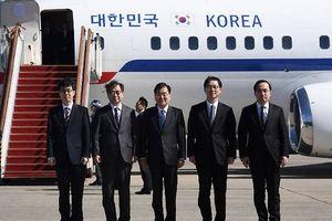 Phái đoàn Hàn Quốc tới Triều Tiên thảo luận