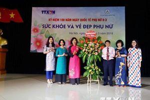 TTXVN tổ chức nói chuyện chuyên đề về sức khỏe của phụ nữ