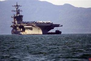 USS Carl Vinson cập cảng Đà Nẵng, chuyến thăm lịch sử