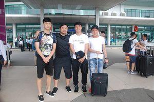 5 cầu thủ U.23 Việt Nam đã đến Huế dự lễ khai mạc Giải U.19 Quốc gia