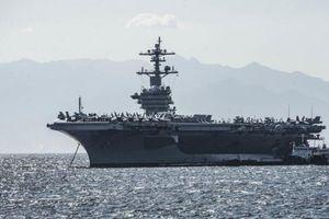 Những hình ảnh trên tàu sân bay Mỹ USS Carl Vinson