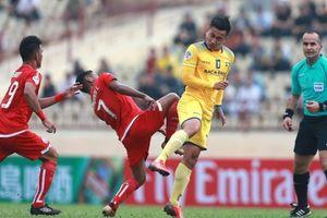 Bị chia điểm trên sân nhà, SLNA vẫn 'trụ' nhất bảng tại AFC Cup