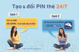 Sacombank thêm tính năng tạo, đổi mã PIN qua tin nhắn