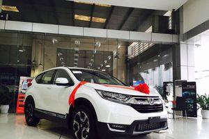 Giá lăn bánh Honda CR-V 2018 vừa cập cảng, miễn thuế nhập khẩu