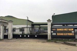 Vụ Công ty Silrang Electronics bị xử phạt 128 triệu đồng: Tổng cục Môi trường đã từng kiểm tra, xử phạt