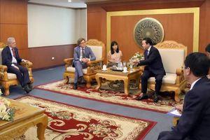 Bộ trưởng Trần Hồng Hà làm việc với Đại sứ về biến đổi khí hậu của Vương quốc Thụy Điển