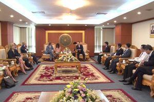 Bộ trưởng Trần Hồng Hà Tiếp Đại sứ về BĐKH của Vương quốc Thụy Điển