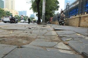 Hà Nội: Nhiều sai phạm trong dự án lát đá vỉa hè quận Hoàng Mai