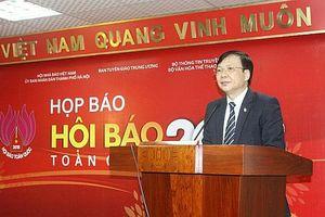 Hội Báo toàn quốc năm 2018: Báo chí Việt Nam đồng hành cùng Đất nước đổi mới