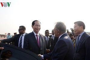 Toàn cảnh chuyến thăm của Chủ tịch nước tới CH Nhân dân Bangladesh