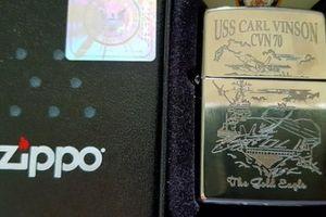 'Cháy hàng' Zippo Mỹ bán trên tàu sân bay USS Carl Vinson đến Đà Nẵng