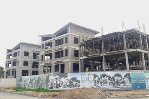 Cận cảnh hàng chục biệt thự Khai Sơn Hill xây dựng không phép