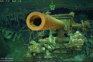 Tìm thấy xác tàu sân bay Mỹ chìm trong Thế chiến 2