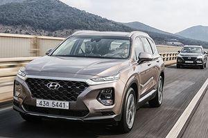 Hyundai SantaFe 2019 ra mắt thêm động cơ Hybrid và PHEV