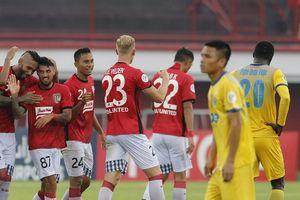 Không có Tiến Dũng, Thanh Hóa để thua chóng vánh 3 bàn tại Indonesia