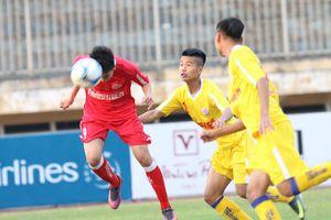U.19 SLNA 2-3 U.19 Viettel: Bùng nổ bàn thắng ở sân Tự Do