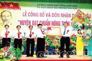 Hải Hậu-Nam Định: Có hay không tình trạng xây dựng trên đất nông nghiệp tại xã Hải Thanh?