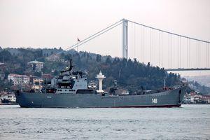 Tàu vận tải của Nga chở hàng loạt vũ khí tới Syria
