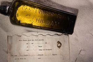 Lá thư trong chai cổ nhất thế giới đã được tìm thấy tại Australia