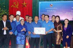 Tỉnh Đoàn Bôlykhămxay trao đổi kinh nghiệm công tác Đoàn tại Hà Tĩnh