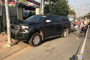 Nhóm buôn hàng lậu tông trọng thương CSGT khi bị truy đuổi