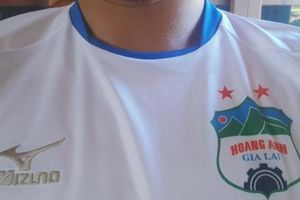 Lộ diện áo đấu mới 'cực chất' của HAGL